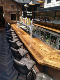 Buffalo Rose Bar Reclaimed Barn Lumber