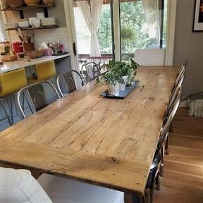 Reclaimed Barn Wood Custom Dining Table