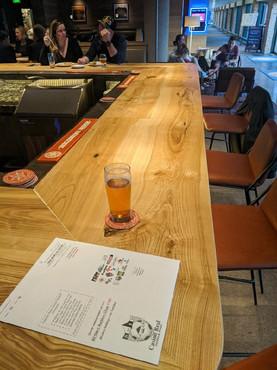 Green Ash - Custom Bar for Breckenridge Brewery