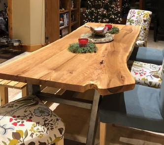 Live Edge Black Cherry - Custom Table