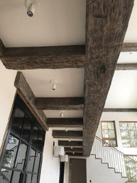 Reclaimed Antique Barn Beam Ceiling Beams