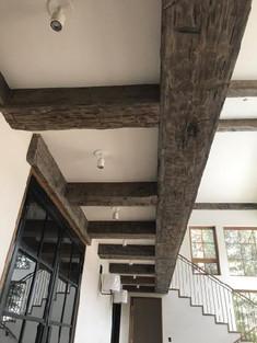 Reclaimed Antique Barn Beam Ceiling Beams