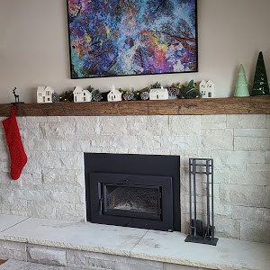 Reclaimed Antique Beam Rustic Fireplace Mantel