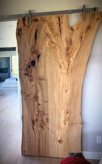 Live Edge Siberian Elm - Custom Door
