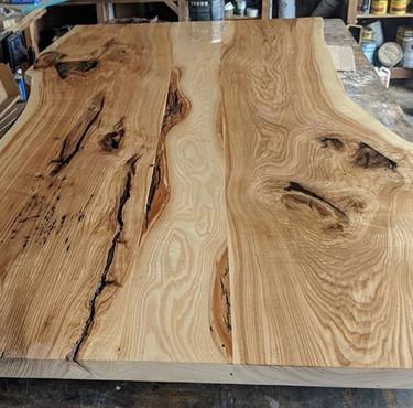 Live Edge Green Ash - Custom Table