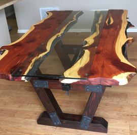 Custom Table - Live Edge Juniper