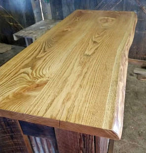 Live Edge Honey Locust - Custom Desk