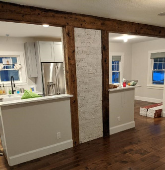 Barn Wood Beam Wraps - Reclaimed Lumber