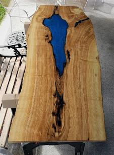 Live Edge Maple Slab Custom Coffee Table