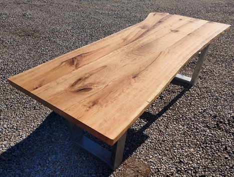 Live Edge Black Cherry - Custom Table