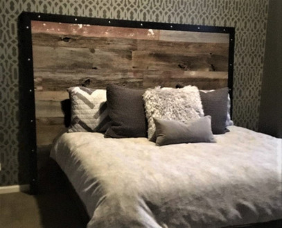 Reclaimed Antique Barn Wood Siding Accent Wall
