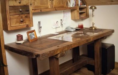 Custom Table - Reclaimed Antique White Oak