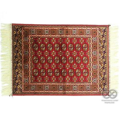 Χαλί Bukhara Κόκκινο Viscose