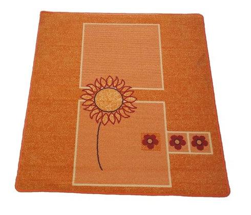 """Μοκέτα - """"Orange Flower"""" 120 Χ 130"""