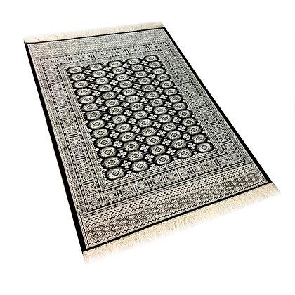 Χαλί Bukhara Μαύρο Viscose