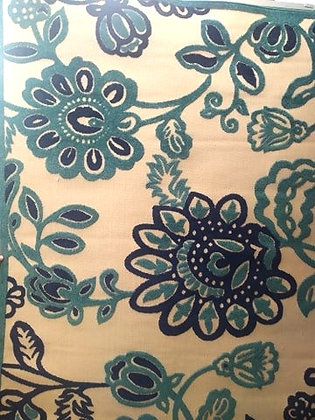 """Χαλί  Ψάθα """"Λουλούδια  160  Χ 230 """" 4"""