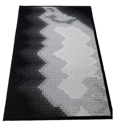 """Χαλί  Φριζέ Viscoze """"Dark Pixels 120  Χ 170 FR 81"""""""