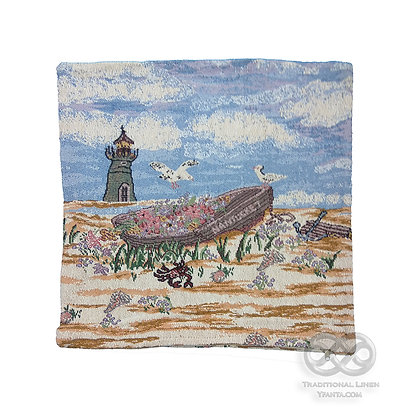 Art S01 Στόφα Διακοσμητική Θήκη μαξιλαριού Δίπλευρη40 X 40