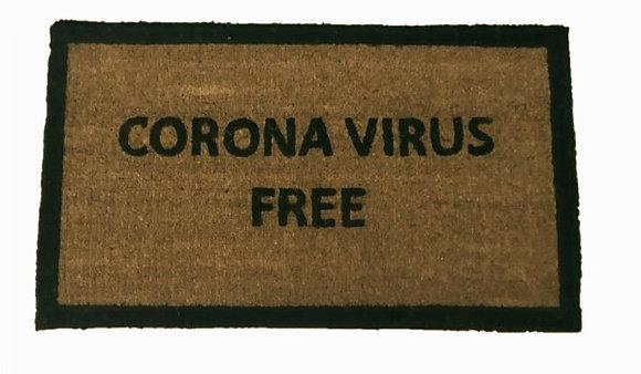 Πατάκι εισόδου Corona Virus Free 40 Χ 70