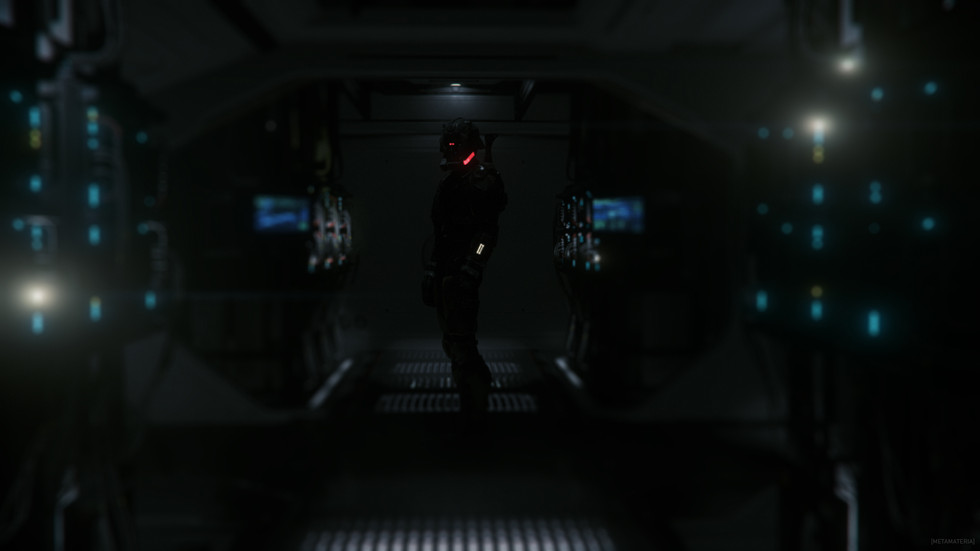 """Pilot: """"Upstairs is for the data. Follow me."""""""
