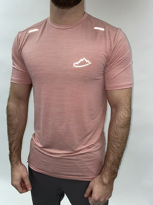 Salmon Breathable Running T-Shirt