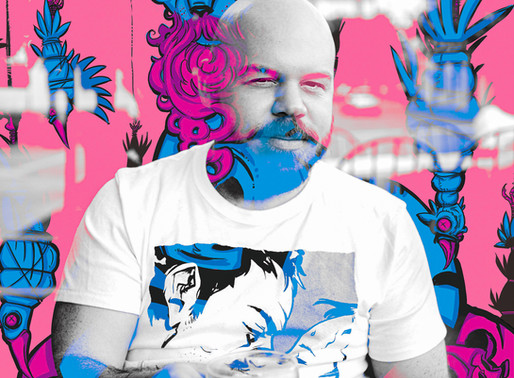 Artists of La Crosse: Mike Mitchell, Space_Whiskey