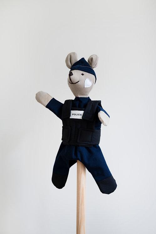 MARIONNETTE POLICIER/POLICIÈRE