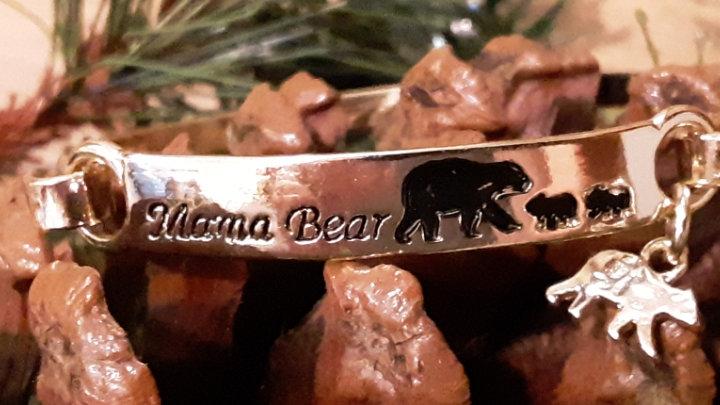 mama bear bar bangle
