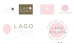 Huisstijl ontwerp voor Lago Events