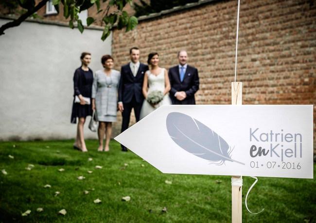 Aankleding huwelijk