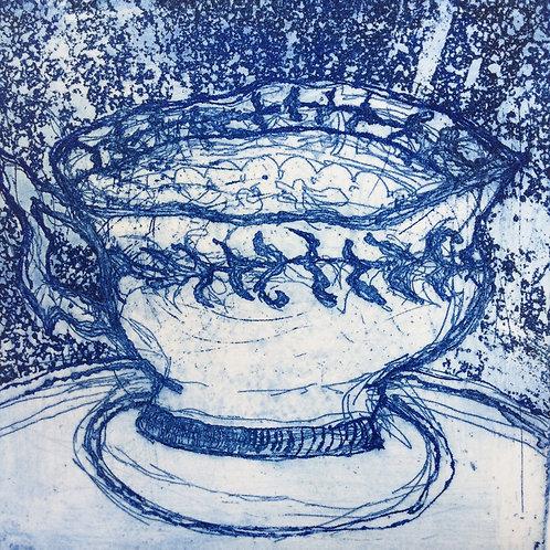 'Wedding Teacup' Greeting Card