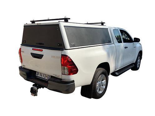Mid Range Toyota Hilux Revo Super Cab Canopy + Load Bars - GZ Aluminium Canopies