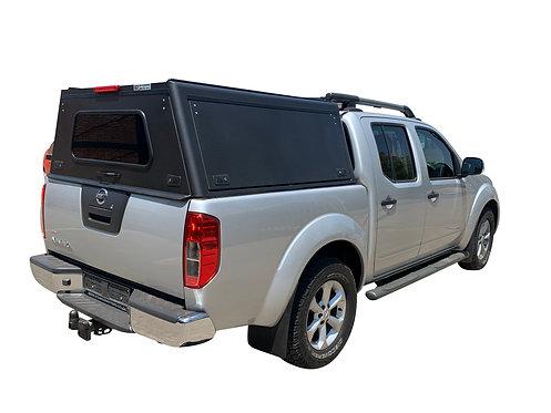 Pro Series Nissan Navara DC Canopy  - GZ Aluminium Canopies