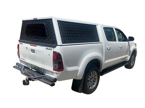 Mid Range Toyota Hilux Vigo Double Cab Canopy - GZ Aluminium Canopies