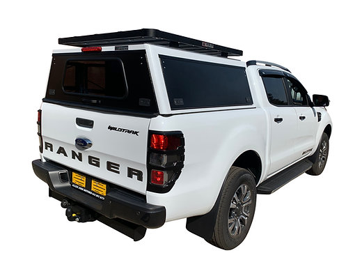 Pro Series Ford Ranger DC Canopy + Speed Rack - GZ Aluminium Canopies