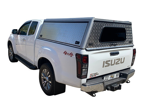 Entry Level Isuzu KB Super Cab Canopy - GZ Aluminium Canopies