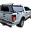Thumbnail: Pro Series Ford Ranger Double Cab Canopy + Load Bars - GZ Aluminium Canopies
