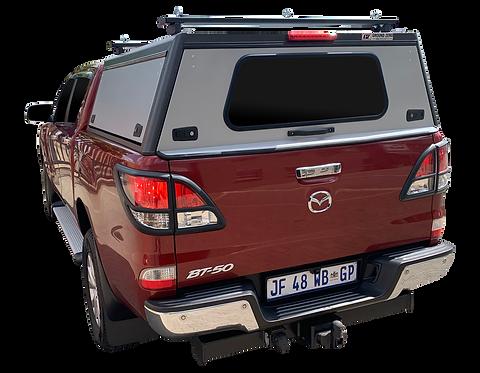 Pro Series Mazda BT-50 Double Cab Canopy + Load Bars - GZ Aluminium Cano