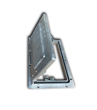 Plain Aluminium Pop-Up Vent - GZ Aluminium Canopies