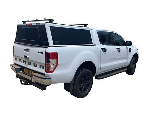 Pro Series Ford Ranger DC Canopy + Load Bars - GZ Aluminium Canopies
