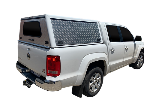 Entry Level Plus VW Amarok Double Cab Canopy - GZ Aluminium Canopies