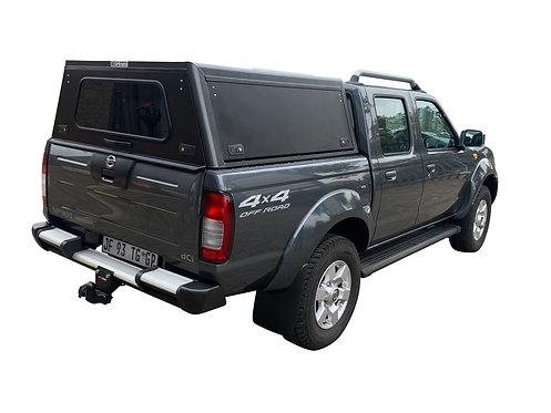 Mid Range Nissan NP300 Double Cab Canopy - GZ Aluminium Canopies