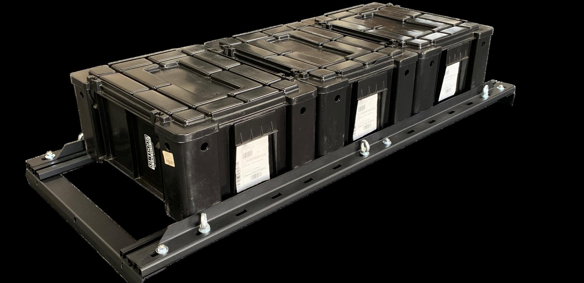 GZ Aluminium Canopies Ammo Box Holder 2