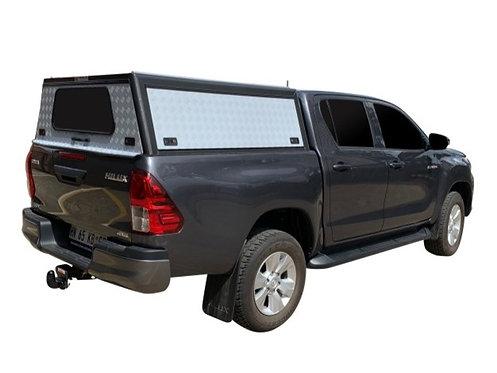 Mid Range Toyota Hilux Revo Double Cab Canopy - GZ Aluminium Canopies