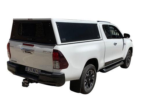 Mid Range Toyota Hilux Revo Super Cab Canopy - GZ Aluminium Canopies