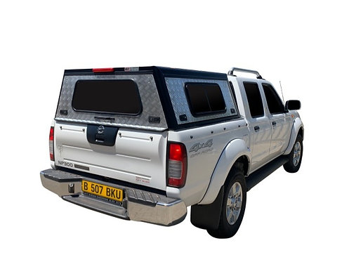 Entry Level Plus Nissan NP300 Double Cab Canopy - GZ Aluminium Canopies