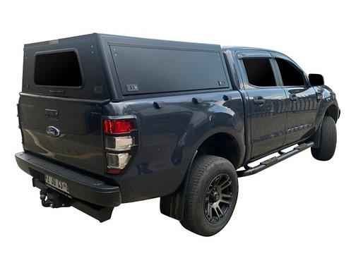 Mid Range Ford Ranger Double Cab Canopy - GZ Aluminium Canopies