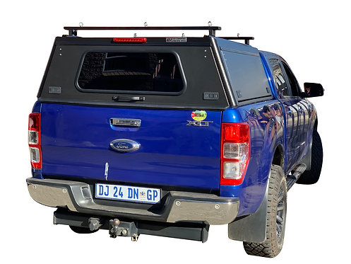 Pro Series Ford Ranger DC Canopy + Load Bars - GZ Aluminium Canopies