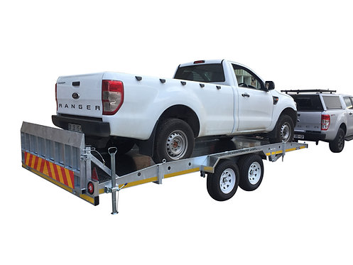 High Lift Car Recovery Trailer 2700kg GVM - Ground Zero Trailers