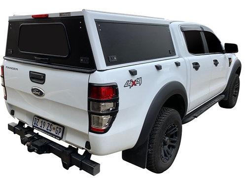 Pro Series Ford Ranger Double Cab Canopy - GZ Aluminium Canopies